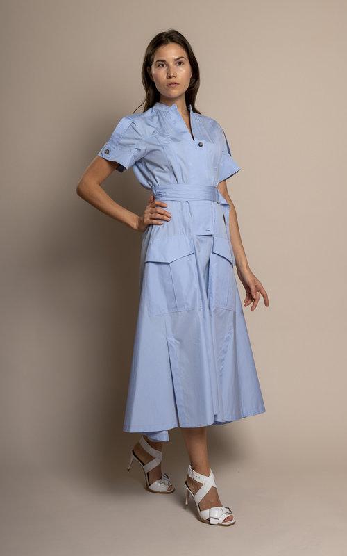 Fionda blue dress