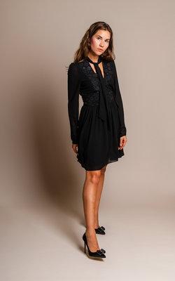 Giamba Black dress Lace