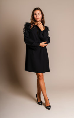 Giamba Black star dress