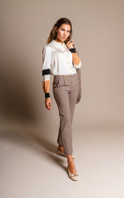 Tory Burch Double faced pants