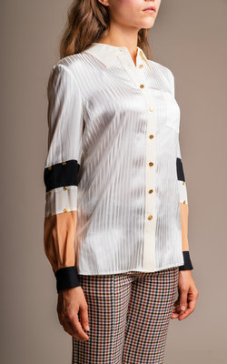 Tory Burch New ivory blouse