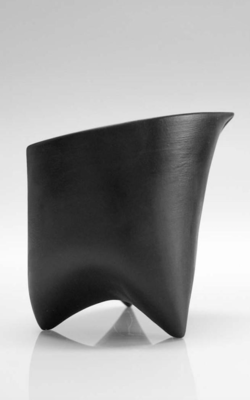 Ende Ceramics Milk jug black