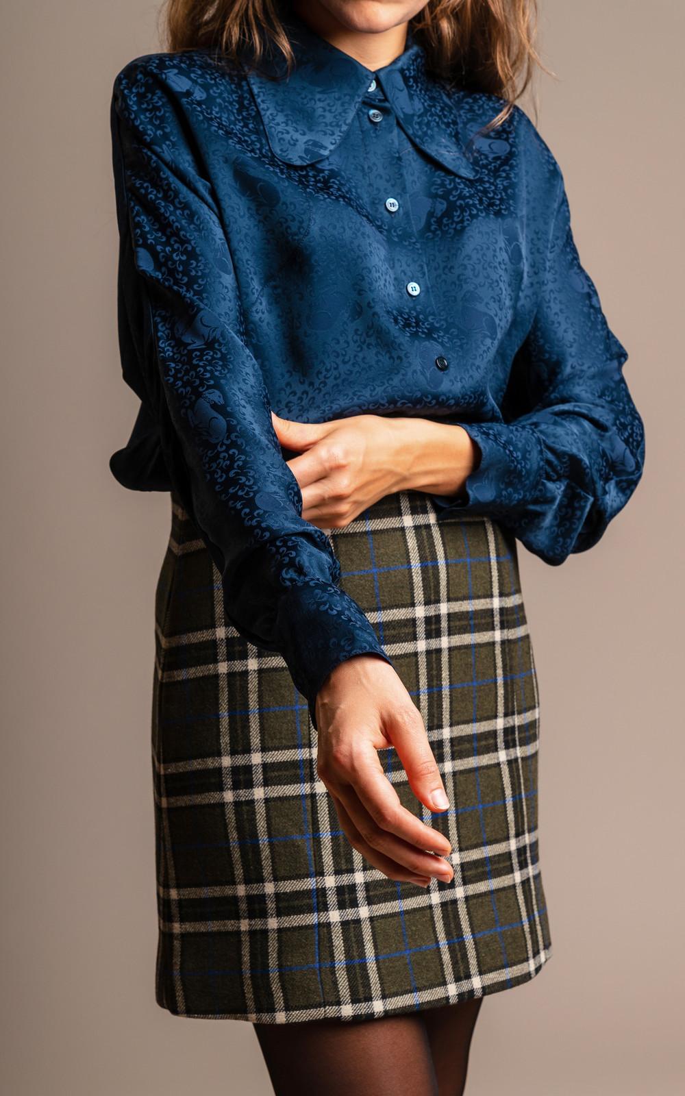 Alexa Chung Raglan Sleeve Shirt