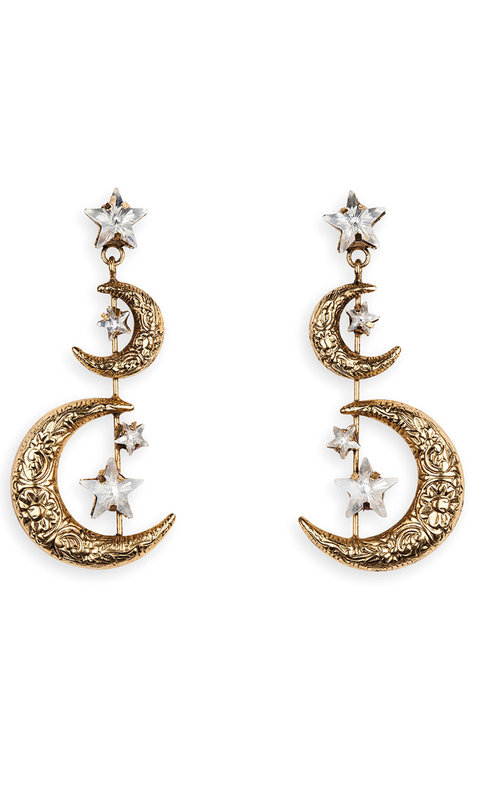 Jennifer Behr Vela earring gold