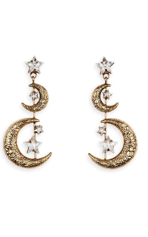 Jennifer Behr Vela earring gold