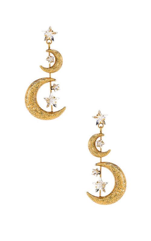 Vela earring gold