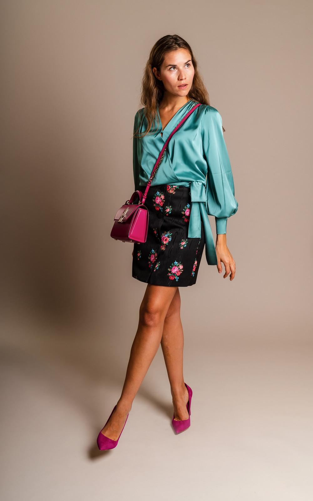 MSGM Flower Skirt