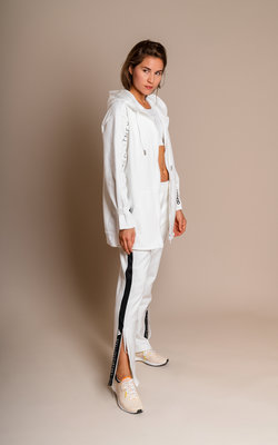 Adidas By Stella Oversized hoodie white