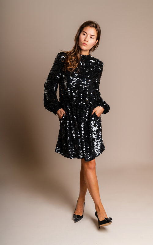Sequins dress black