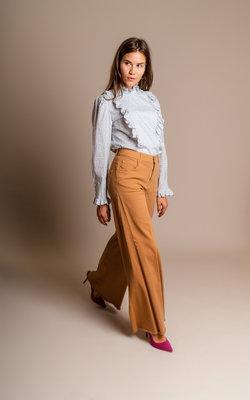 Alexa Chung Ruffles detail blouse Civory