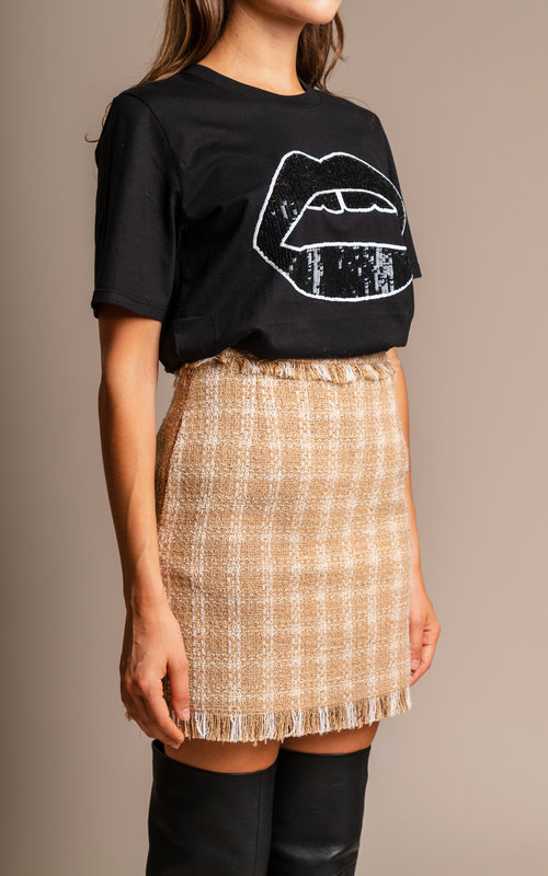 MSGM Chanel skirt beige