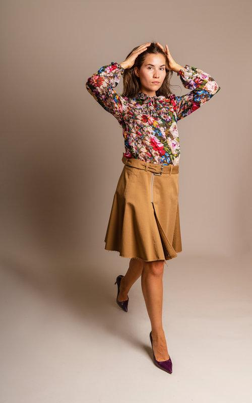 Evi blouse flora