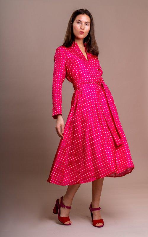 Sage & Ivy Gina dress pink
