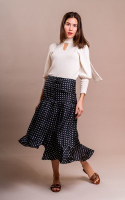Sage & Ivy Jacky skirt off-white
