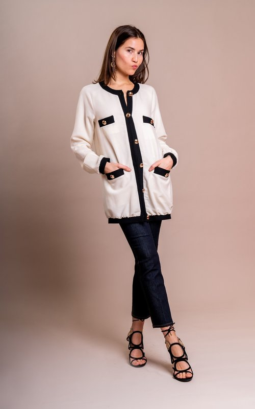 Melissa jacket off white