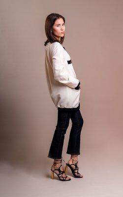 Sage & Ivy Melissa jacket off white