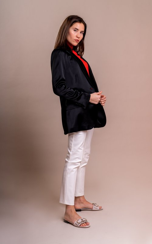 Tory Burch Slouchy jacket black