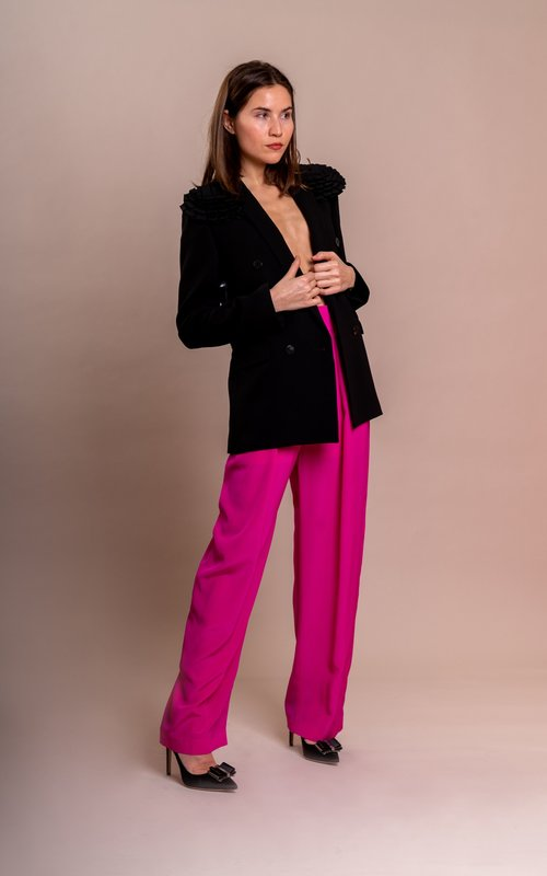 Trousers fushia