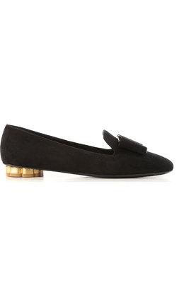 Salvatore Ferragamo Sarno velvet loafer
