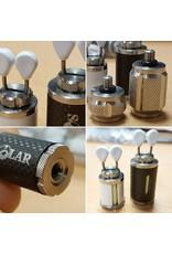 Solar P1 Titanium indicator heads