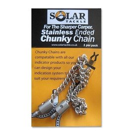 Solar Stainless ended chunky chain 5 inch
