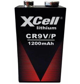 Xcell Batterie lithium bloc 9 volts