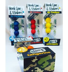 Camo Carpers Hook Line and Stinkers  navulling