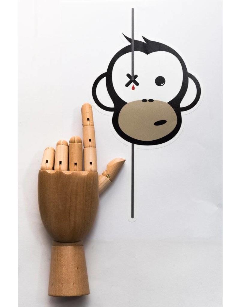 Monkey Climber Monkey Sticker