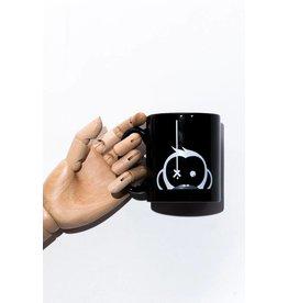 Monkey Climber Black Camus Mug