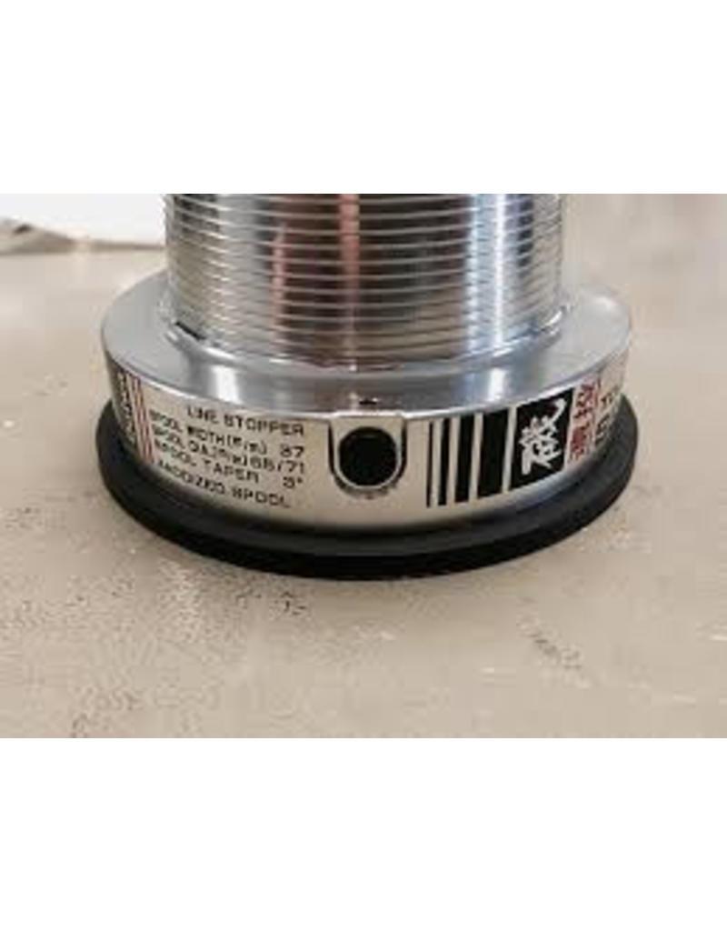 South Custom Reels Daiwa sprung loaded line clip