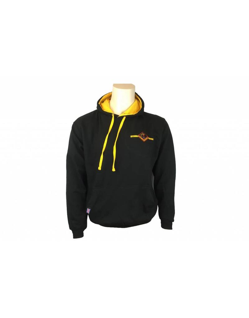 Cotswold Aquarius Black and Gold Hoody SW1