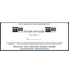 M2 Bait and Tackle Gift Certificate