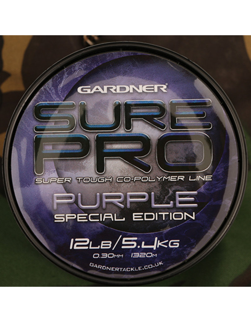 Gardner Sure Pro special edition Purple 15lb