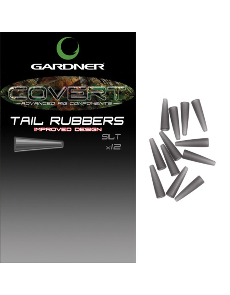 Gardner Covert Tail rubbers c-thru