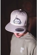Monkey Climber Logo patch snapback grey