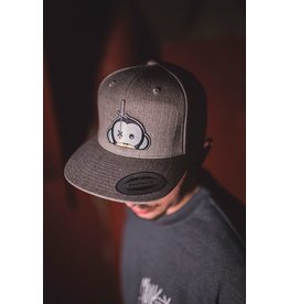 Monkey Climber Logo patch snapback dark grey