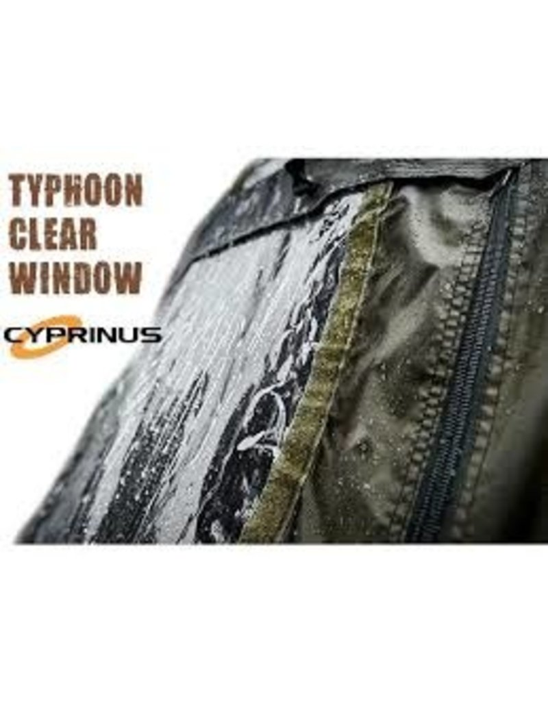 Cyprinus Clear window Typhoon bivvy