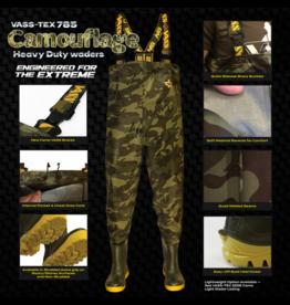 Vass Vass-Tex 785 'Heavy Duty' Camouflage Waders