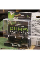 Gardner Dumpy backleads 1 oz