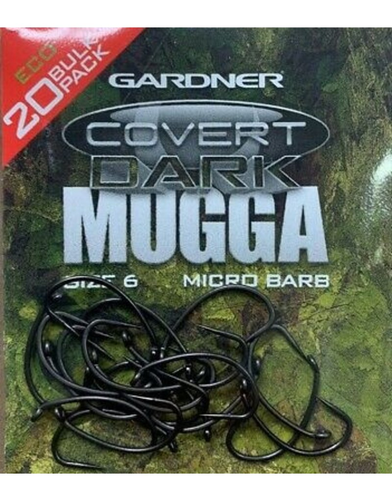 Gardner Bulkpack Covert Dark Continental Mugga Hook