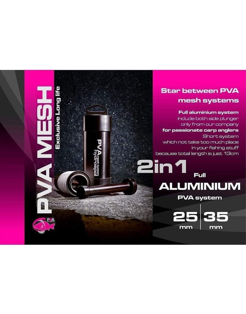 PVA Hydrospol 2 in 1  mesh system aluminium