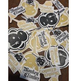Monkey Climber Vinyl Car sticker monkey