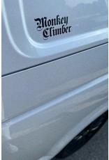 Monkey Climber Vinyl Car sticker Monkey Climber
