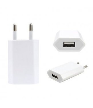 Apple Apple Origineel 220V > 1.0A USB Wall Charger - Wit