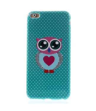 ZWC TPU Softcase iPhone 6(s) plus - Uil Lief
