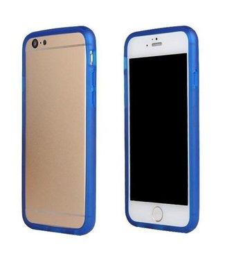 TPU Bumper iPhone 6(s) - Blauw