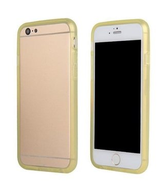 TPU Bumper iPhone 6(s) - Geel