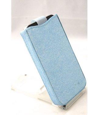 Insteekhoesje blauw voor iphone 4/4S