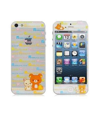 Beertjes ??voor & achter Sticker iPhone 5 en SE
