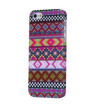 ZWC Aztec roze iPhone 5 case